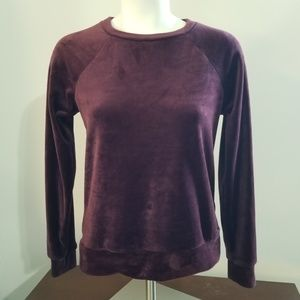 Marc New York Performance Top Size Xsmall Velour